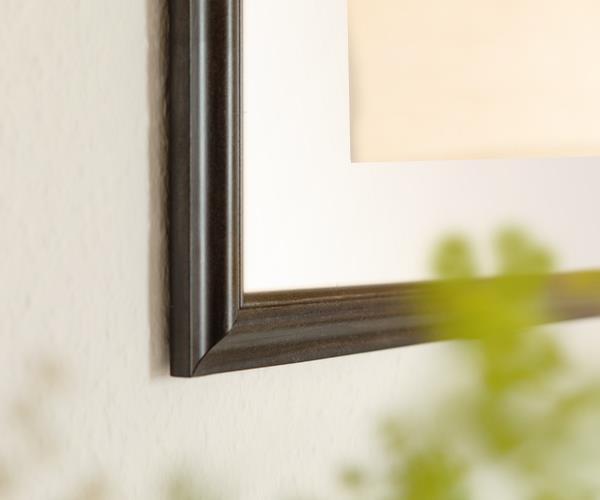 personalisierte bilder im holzrahmen mit pers nlicher widmung. Black Bedroom Furniture Sets. Home Design Ideas