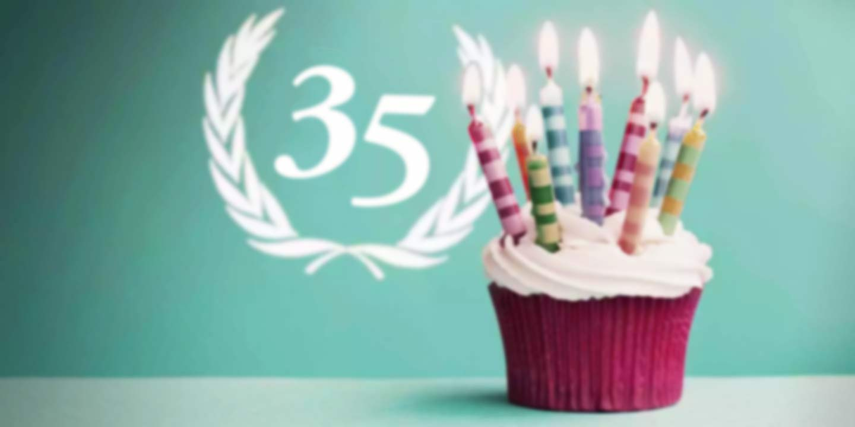 Geschenke zum 35. Geburtstag