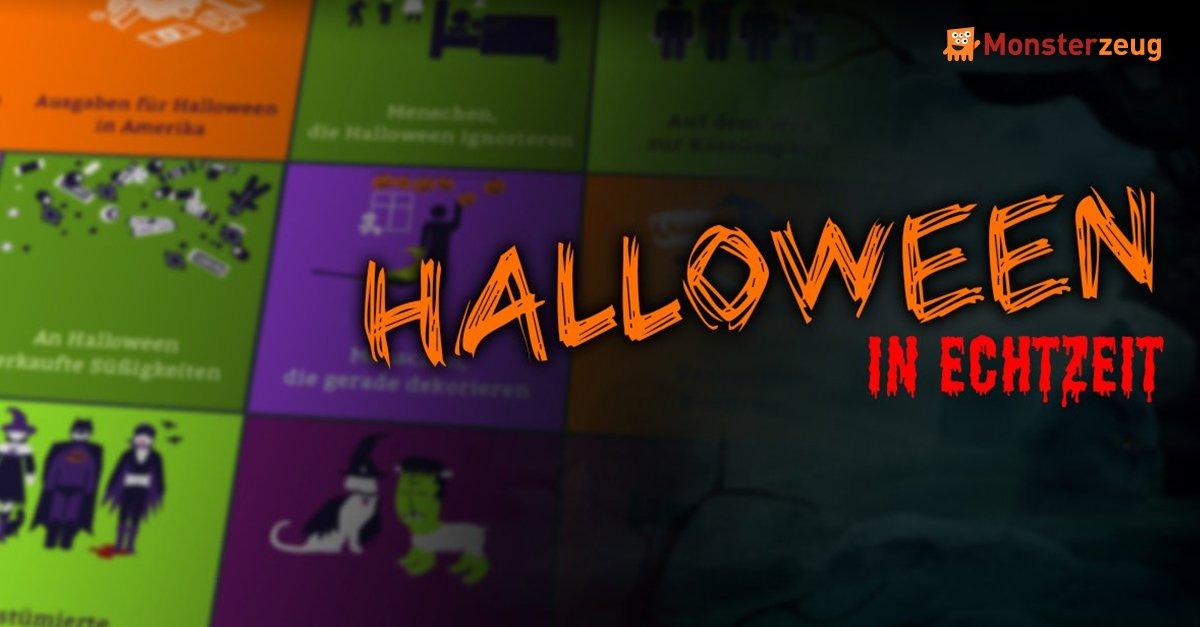 Halloween in Echtzeit