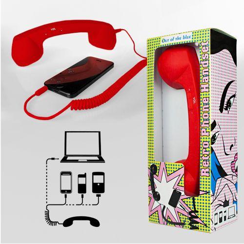 Telefonhörer für Handys rot