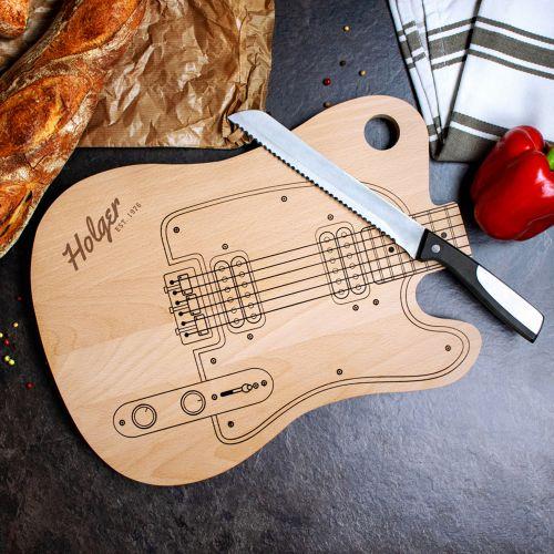Schneidebrett Gitarre
