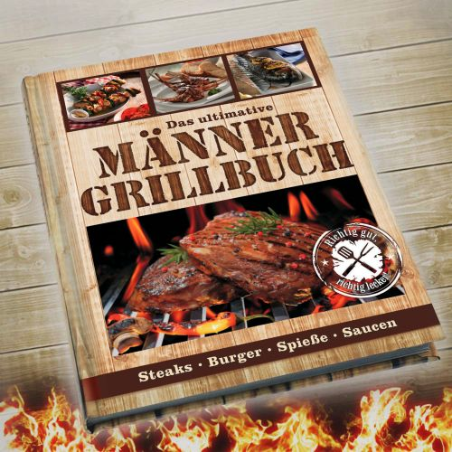 Ausgefallengrillen - Männer Grillbuch - Onlineshop Monsterzeug