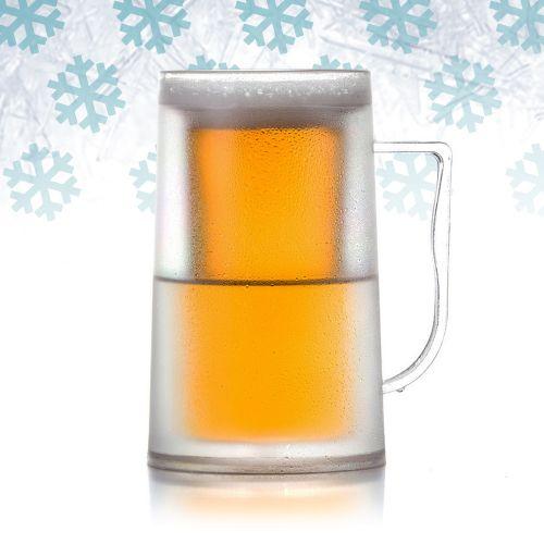 Doppelwandiger Bier Kühl Krug