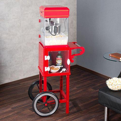 Ausgefallengrillen - Popcornmaschine mit Wagen Premium Edition - Onlineshop Monsterzeug