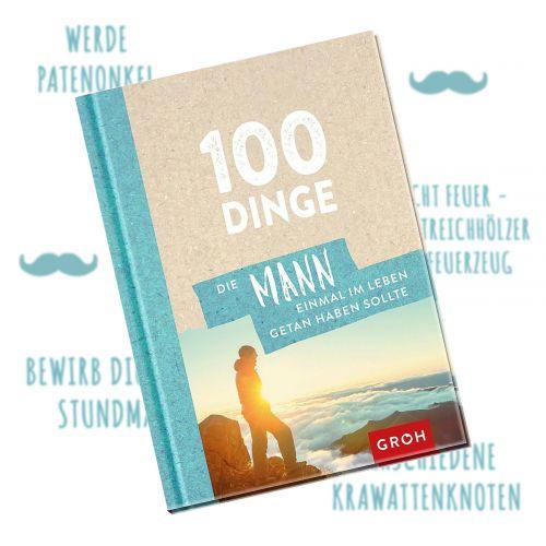 Ausgefallenkleineaufmerksamkeiten - Buch 100 Dinge, die Mann getan haben muss - Onlineshop Monsterzeug