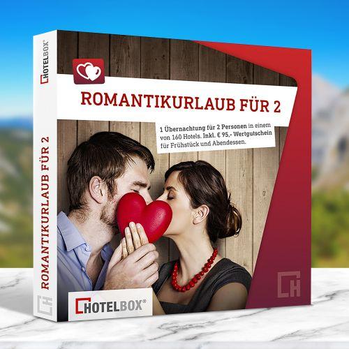 Romantikurlaub für 2 Kurzurlaub Hotelgutschein