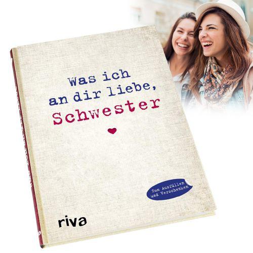 Buch zum Ausfüllen - Was ich an Dir liebe, Schw...