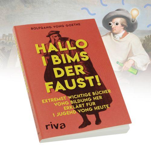 Buch Hallo I bims der Faust