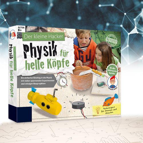 Physik für helle Köpfe - Einsteigerbox für Kinder
