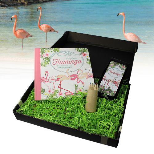 Flamingo Geschenkbox