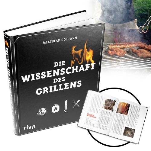 Grillbuch Die Wissenschaft des Grillens