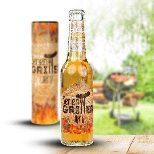 Bierflasche 0,33 l Seriengriller
