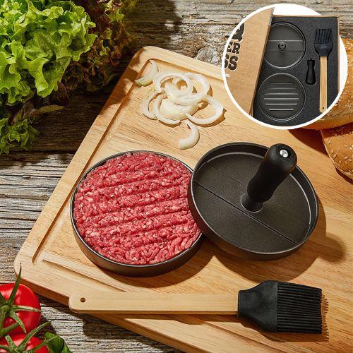 Ausgefallengrillen - Burgerpresse Patty Maker Grillset - Onlineshop Monsterzeug