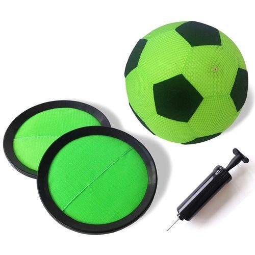 Torwandschießen für Kinder Indoor Klett Fußball Set