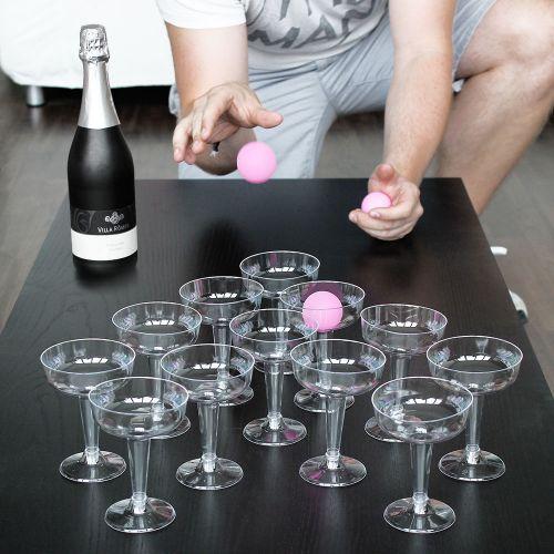 Prosecco Pong Trinkspiel