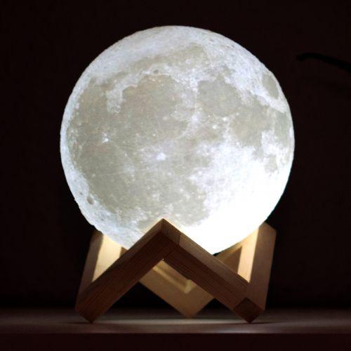 Galaktische Mond Lampe
