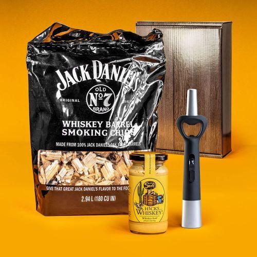 Ausgefallengrillen - Whiskey Grillset Geschenkbox - Onlineshop Monsterzeug