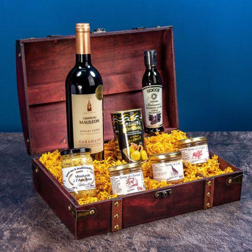 Gourmet Geschenkbox 7 teilig