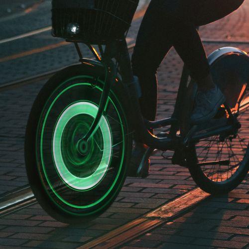 Fahrradbeleuchtung LED Speichenlicht 2er Set