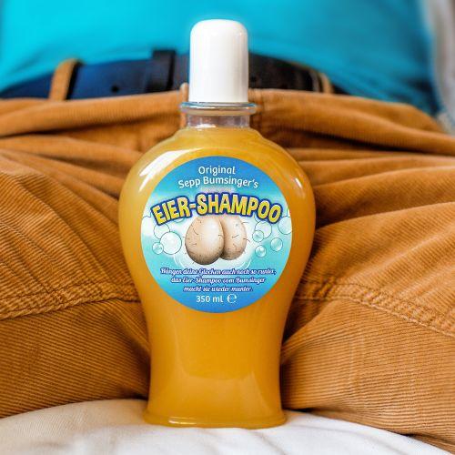 Eier Shampoo Das Duschgel für gepflegte Klöten