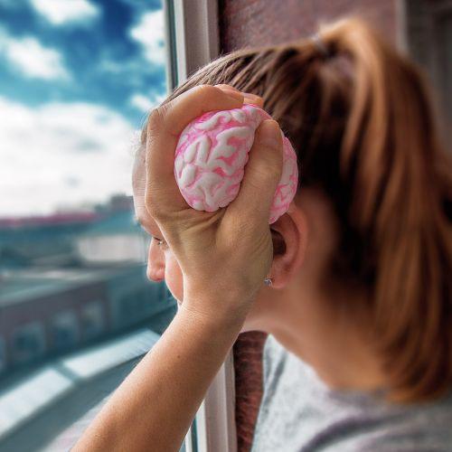 Stressball Gehirn