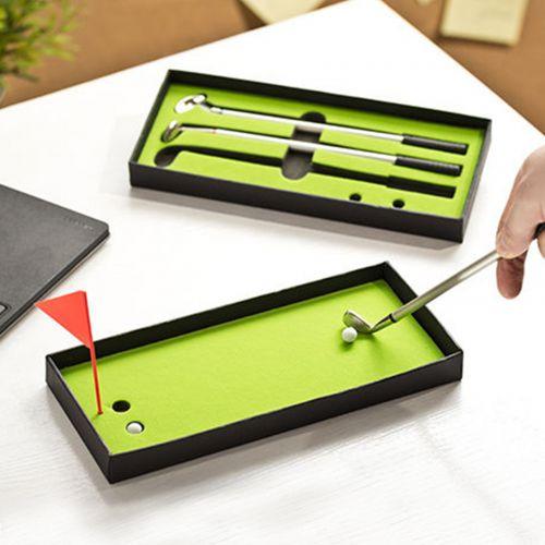 Ausgefallenkleineaufmerksamkeiten - Golf Kugelschreiber Set - Onlineshop Monsterzeug