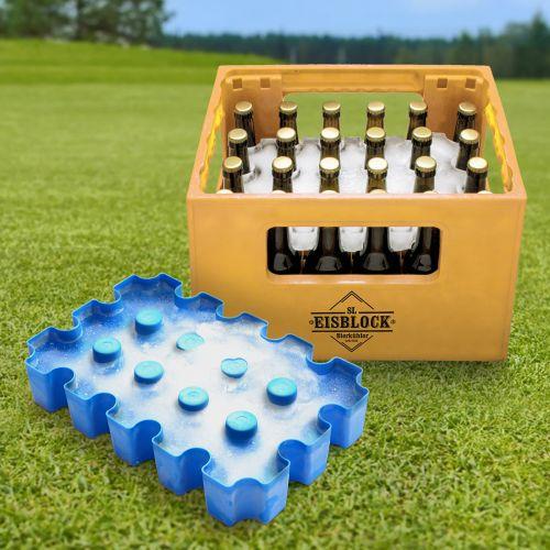 Bierkühler Eisblockform für Bierkisten 0,33 l Flaschen