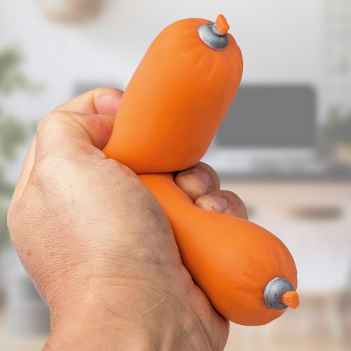 Witzigspassgeschenke - Stressball Anti Stress Wurst - Onlineshop Monsterzeug