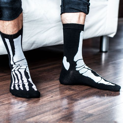 - Skelett Socken - Onlineshop Monsterzeug