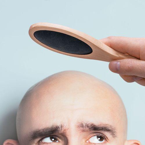 Witzigspassgeschenke - Bürste für Glatzköpfe - Onlineshop Monsterzeug