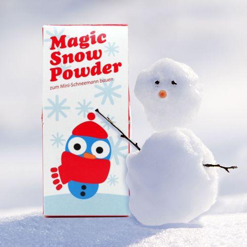 Witzigspassgeschenke - Zauberschnee Magisches Pulver für Kunstschnee - Onlineshop Monsterzeug