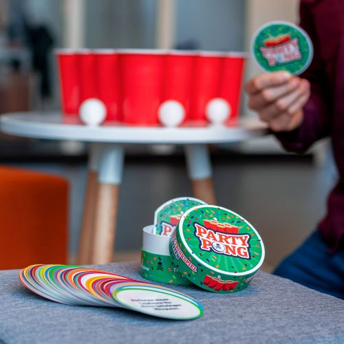 Partybedarfpartyspiele - Trinkspiel Party Pong - Onlineshop Monsterzeug