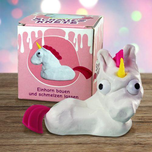 Witzigspassgeschenke - Einhorn Bausatz mit Schmilzknete - Onlineshop Monsterzeug