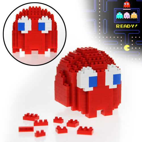 3d pac man geist bausteine als rote blinky figur. Black Bedroom Furniture Sets. Home Design Ideas
