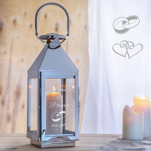 Lanterne de mariage – Lumière matrimoniale