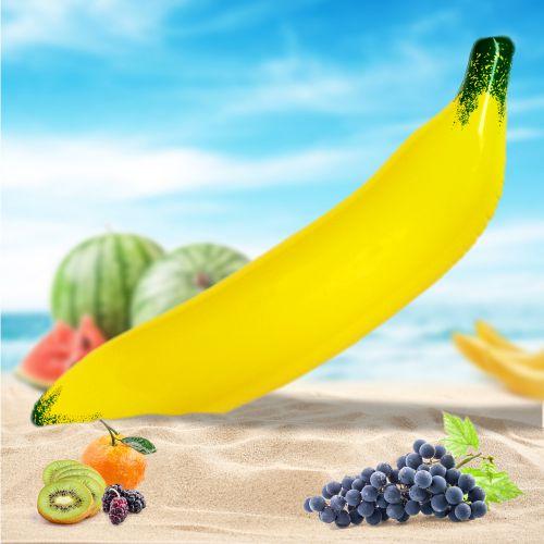 Aufblasbare Banane