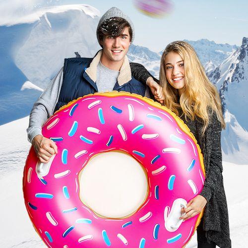 Aufblasbarer Schlitten Donut