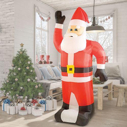 Père Noël gonflable XXL – 240 cm