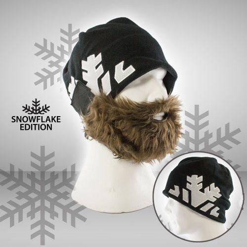 Bartmütze - Snowflake Edition