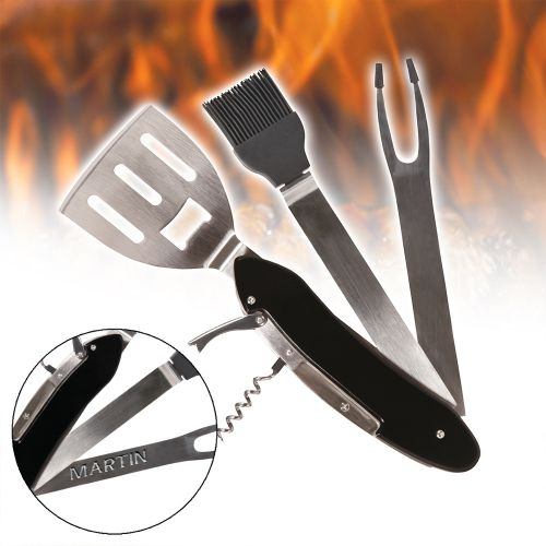 Multitool BBQ – Accessoire barbecue 5 en 1