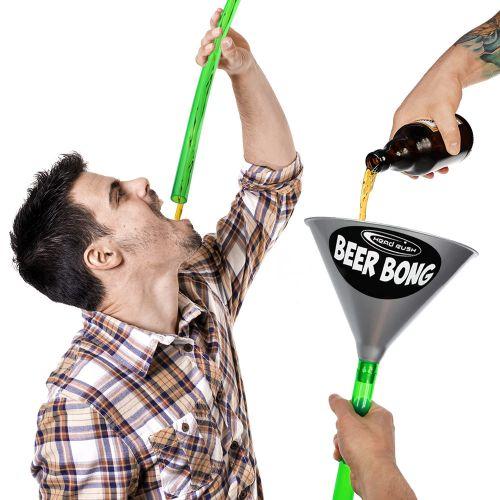 Bierbong Trichter mit Schlauch Bierstürzer