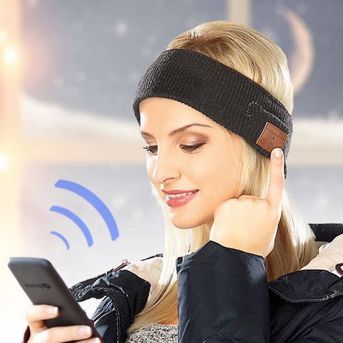 Bluetooth Stirnband mit Kopfhörern
