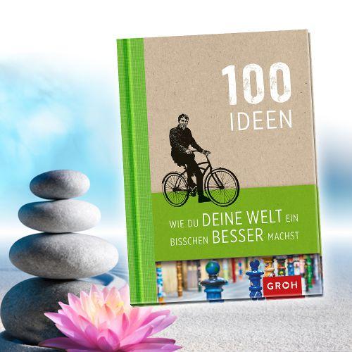Buch 100 Ideen, wie Du Deine Welt ein bisschen besser machst
