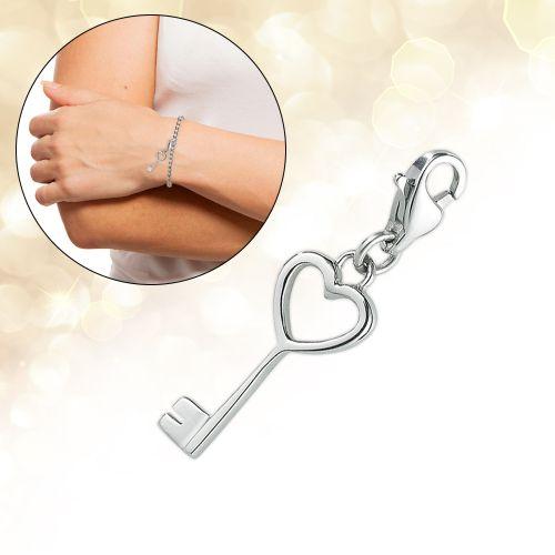 Charm Anhänger - Schlüssel zu meinem Herzen