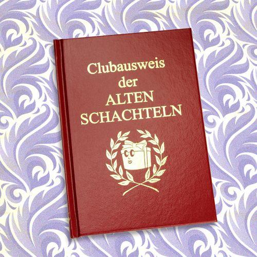 Clubausweis der Alten Schachteln