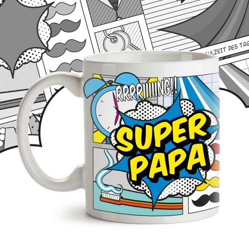 Comic Tasse - Super Papa