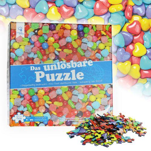 Das unlösbare Puzzle - Süßigkeiten