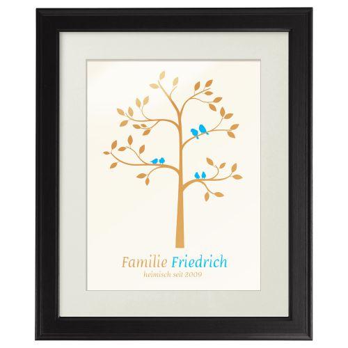 Familienbaum - personalisiertes Bild