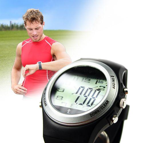 Fitness Uhr mit Schrittzähler und Kalorienverbr...