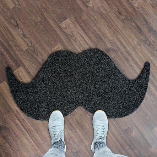 Fußmatte Moustache